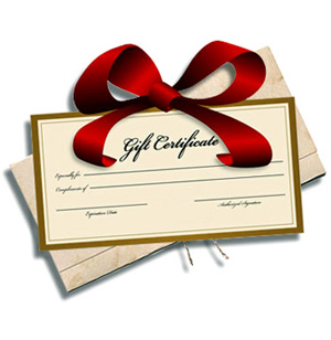 GIFT CERTIFICATE - Image 1
